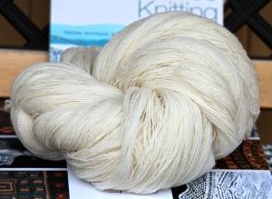 Shetland lace yarn