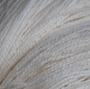 Shetland lace yarn, close up