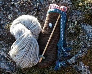 IMG_3719 Ålandsfår, Lerwick slända, nålbindning, brickband