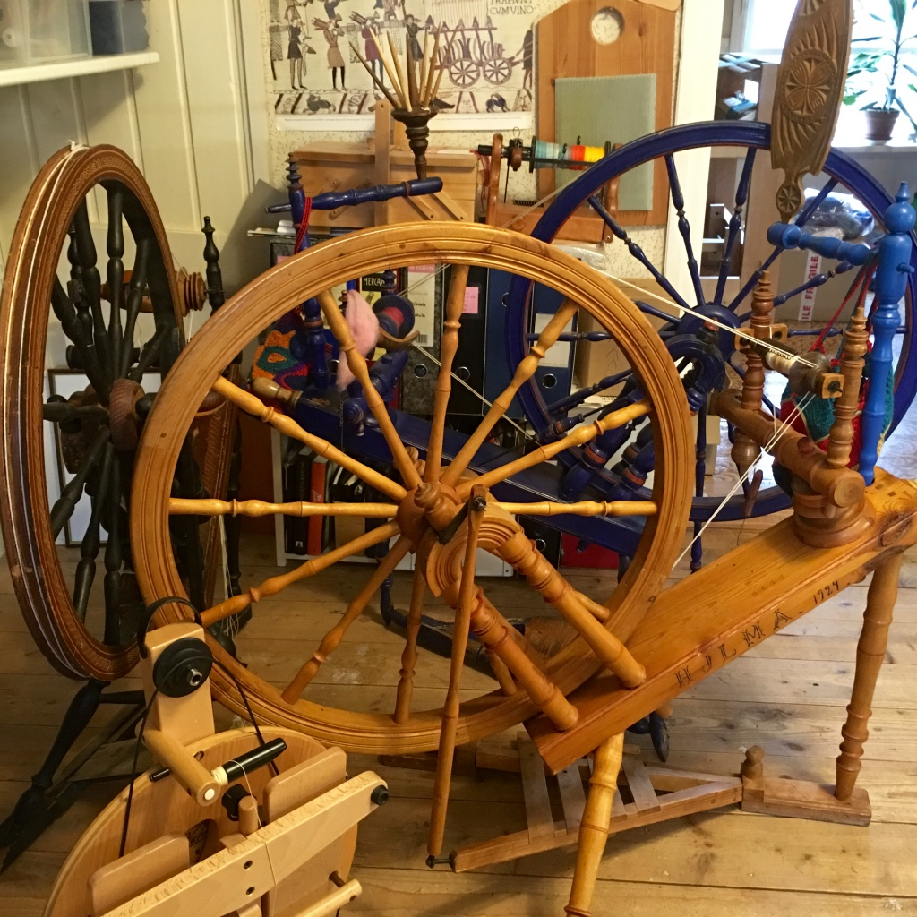 A Spinning Wheel From Sweden Barbro S Threads